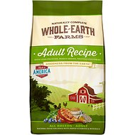 Whole Earth Farms Adult Recipe Dry Dog Food, 30-lb bag