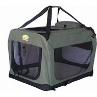 GoPetClub Soft Portable Pet Carrier, Sage, 28-inch