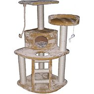 GoPetClub 48-inch Cat Tree, Beige