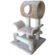 GoPetClub 28-inch Cat Tree, Beige
