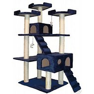 GoPetClub 72-inch Cat Tree, Blue
