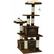 GoPetClub 67-inch Cat Tree, Brown