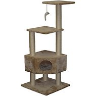 GoPetClub 51-inch Cat Tree, Beige