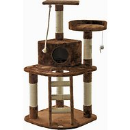 GoPetClub 48-inch Cat Tree, Brown
