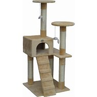 GoPetClub 52-inch Cat Tree, Beige