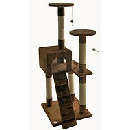 GoPetClub 52-inch Cat Tree, Brown