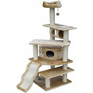 GoPetClub 70-inch Cat Tree, Beige