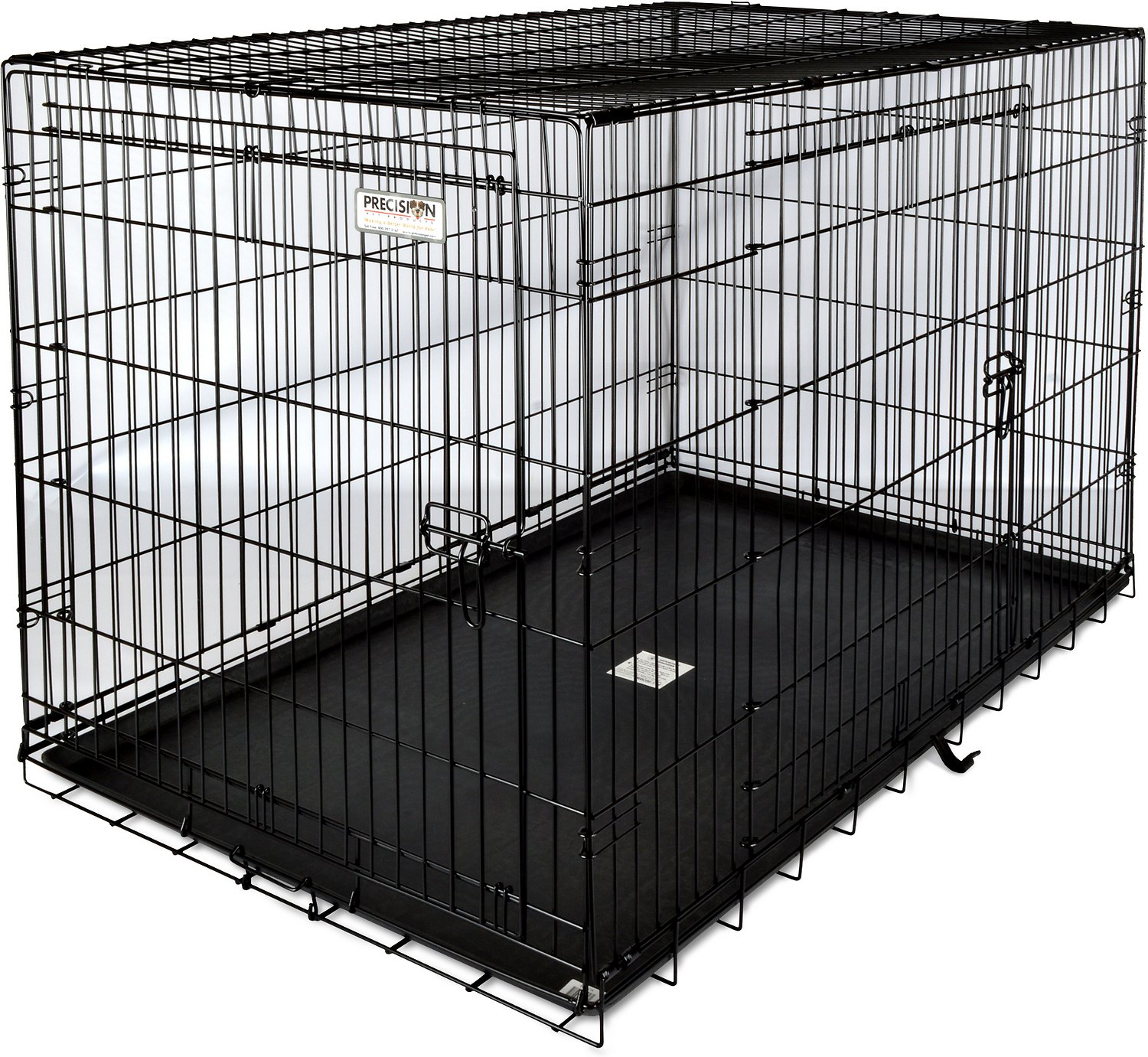 Precision Pet Products Great Crate Double Door Dog Crate