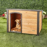 Precision Pet Products Extreme Outback Log Cabin Dog House, Large