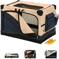 Precision Pet Products Soft Sided Crate, Large