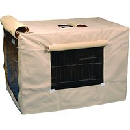 Precision Pet Products Indoor/Outdoor Crate Cover, Medium
