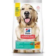 Hill's Science Diet Adult Perfect Weight Dry Dog Food, 15-lb bag
