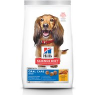 Hill's Science Diet Adult Oral Care Dry Dog Food, 28.5-lb bag