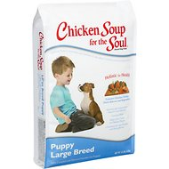 Chicken Soup for the Soul Large Breed Puppy Dry Dog Food, 15-lb bag