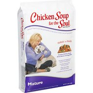 Chicken Soup for the Soul Mature Dry Dog Food, 5-lb bag