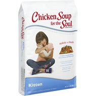 Chicken Soup for the Soul Kitten Dry Cat Food, 15-lb bag