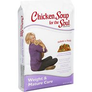 Chicken Soup for the Soul Weight & Mature Care Dry Cat Food, 15-lb bag