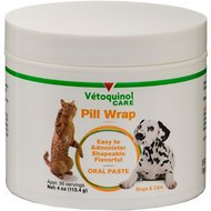 Vetoquinol Pill Wrap for Dogs & Cats, 4-oz