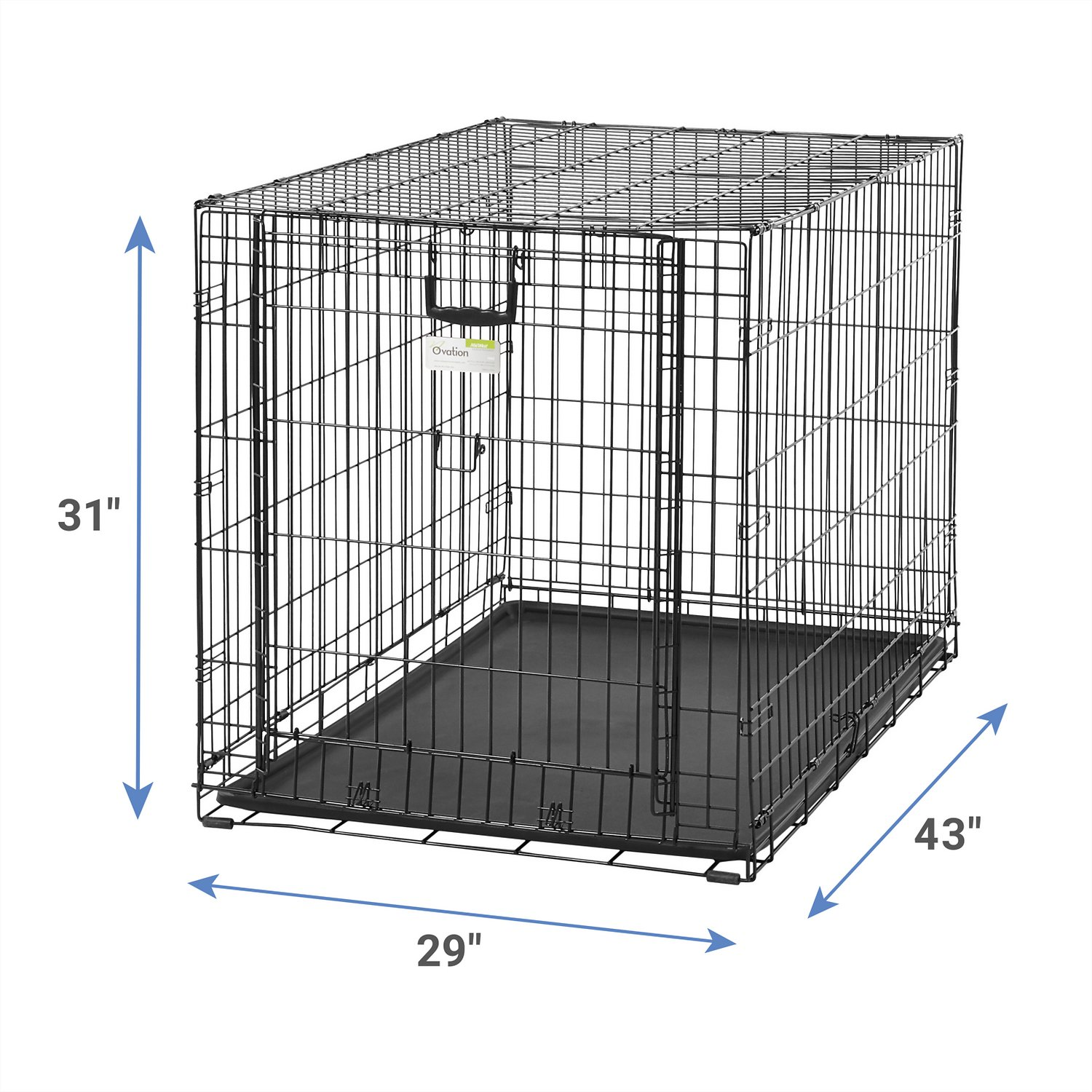 dog crate with divider panel botpack