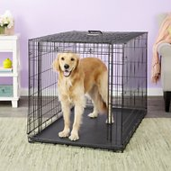 MidWest Ovation Single Door Dog Crate, 48-in