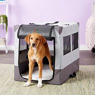 MidWest Canine Camper Sportable Tent Dog Crate, 30-inch