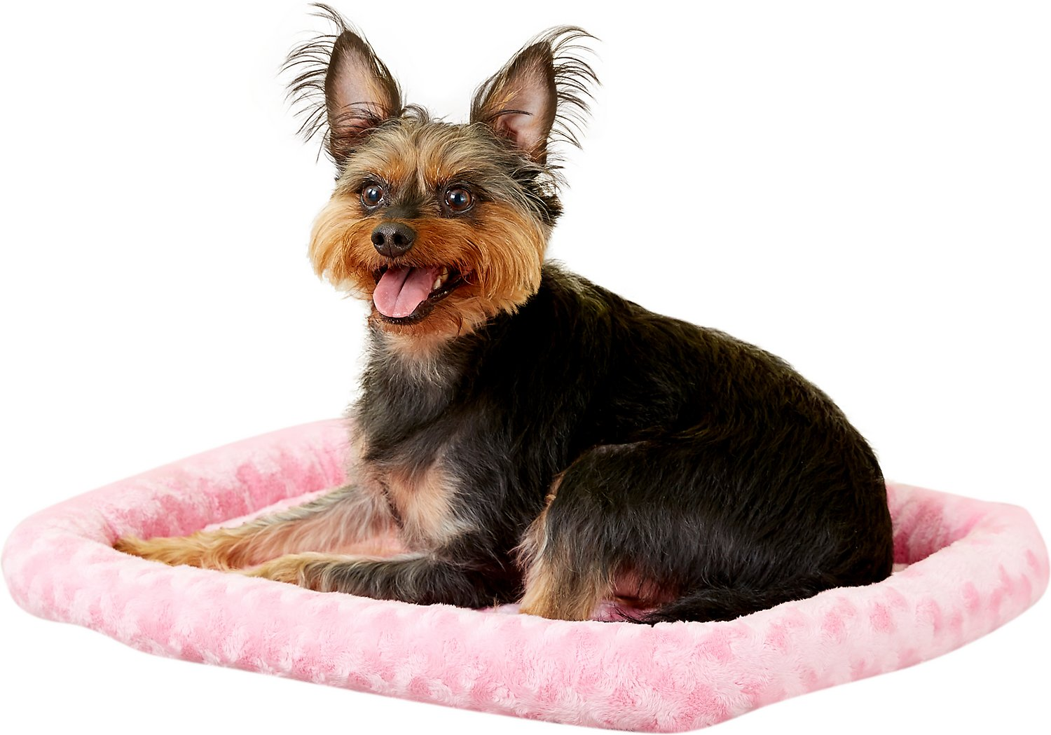 Midwest Quiet Time Fashion Pet Bed & Crate Mat, Pink