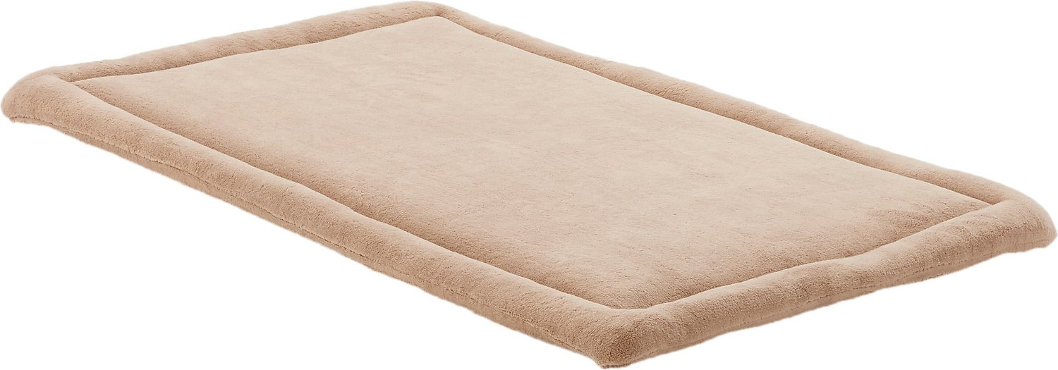 midwest quiet time deluxe micro terry pet bed & crate mat, 36-inch