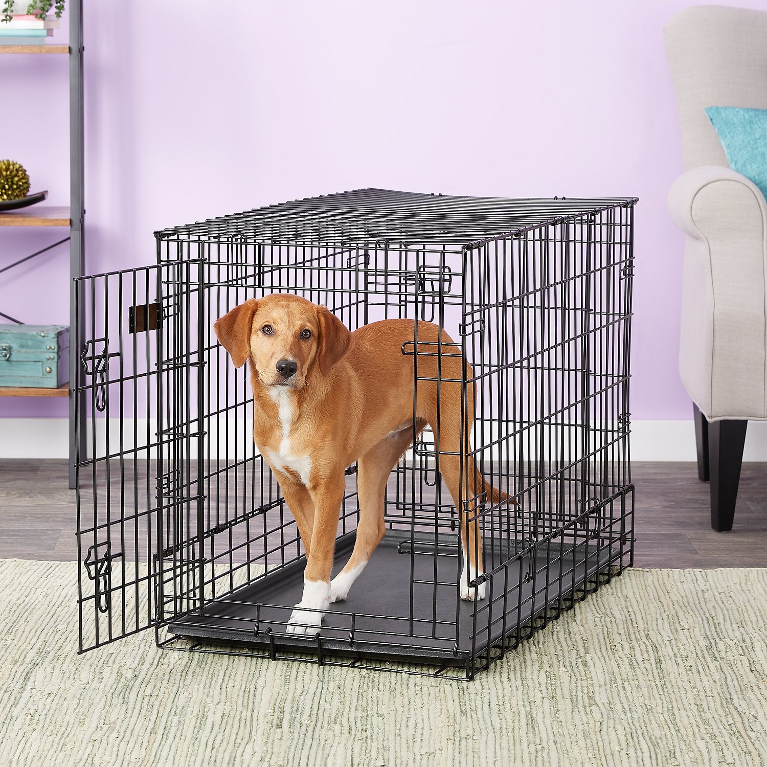 MidWest Solutions Series Side By Side Double Door SUV Dog Crate Part 86