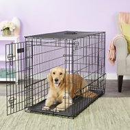 MidWest Solutions Series Side by Side Double Door SUV Dog Crate, 42-inch