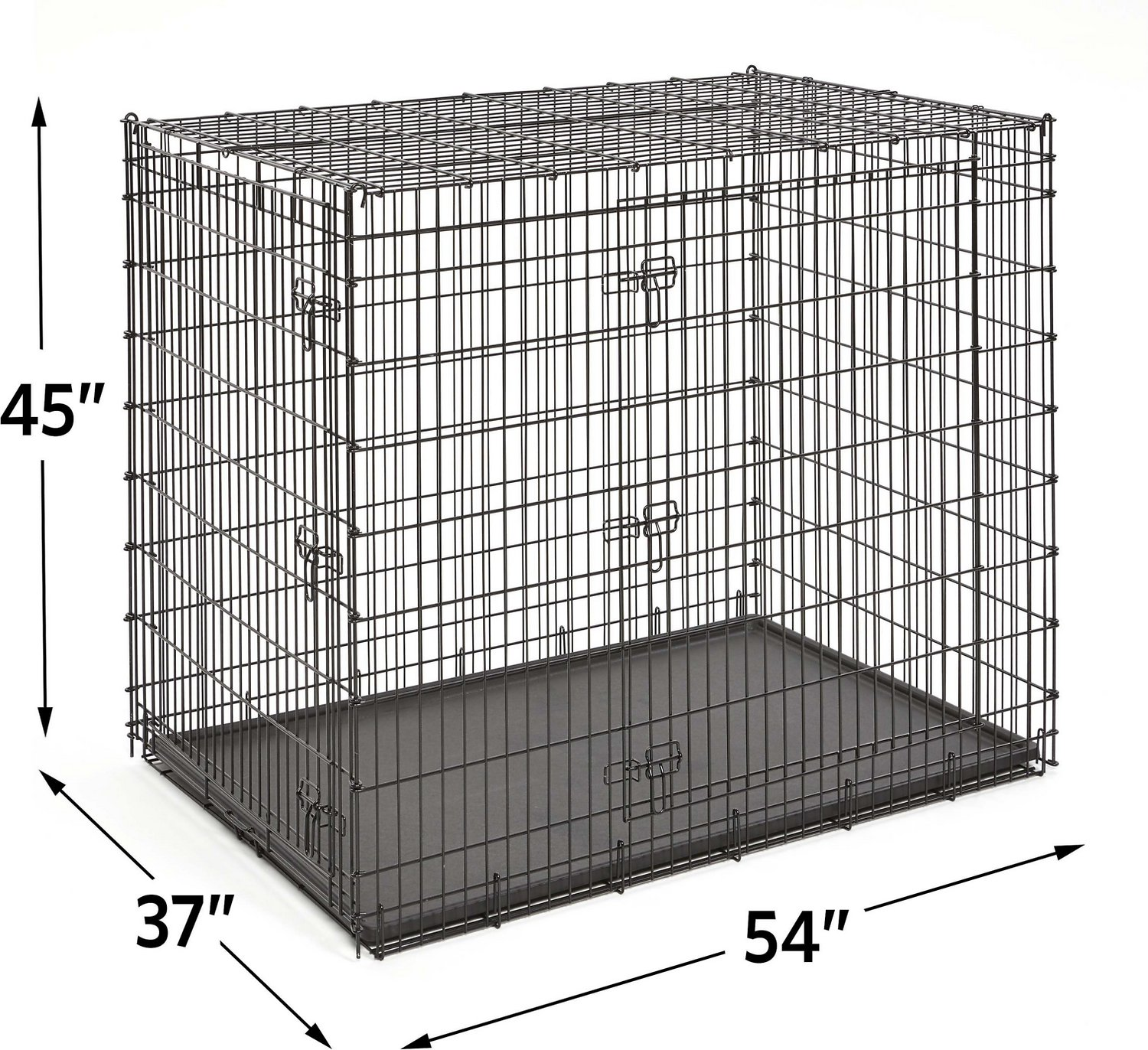 Frisco Xx Large Heavy Duty Double Door Dog Crate  In