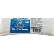 Redbarn Large Greek Yogurt Dog Filled Bones Treats, 6-in chew, 1 count