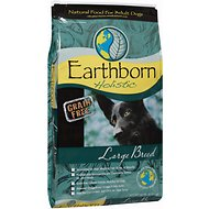 Earthborn Holistic Grain-Free Large Breed Dry Dog Food, 14-lb bag