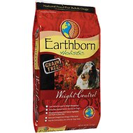 Earthborn Holistic Grain-Free Weight Control Dry Dog Food, 28-lb bag