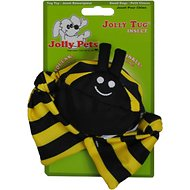Jolly Pets Jolly Tug Insect Bumble Bee Dog Toy, Large
