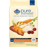 Nature's Recipe Pure Essentials Limited Ingredient Grain-Free Adult Chicken & Sweet Potato Recipe Dry Dog Food, 24-lb bag