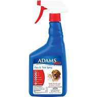 Adams Plus Flea & Tick Pet Spray, 32-oz bottle
