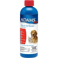 Adams Plus Flea & Tick Shampoo with Precor, 12-oz bottle