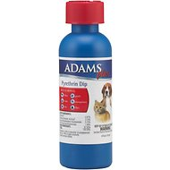 Adams Plus Flea & Tick Pyrethrin Pet Dip, 4-oz bottle