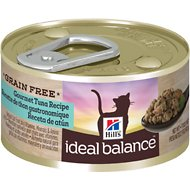 Hill's Ideal Balance Grain-Free Gourmet Tuna Recipe Canned Cat Food, 2.9-oz, case of 24