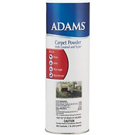 Adams Flea & Tick Carpet Powder, 16-oz bottle