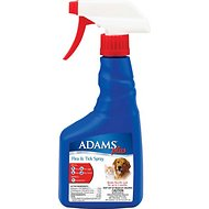 Adams Plus Flea & Tick Pet Spray, 16-oz bottle
