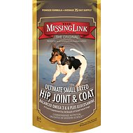 The Missing Link Ultimate Small Breed Hip, Joint & Coat Formula Dog Supplement, 8-oz bag