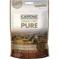 CANIDAE Grain-Free PURE Taste with Fresh Chicken Cat Treats, 3-oz bag