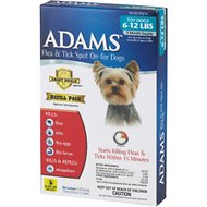 Adams Flea & Tick Spot On for Dogs Refill (3-Month Supply), Toy