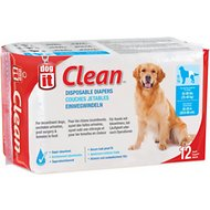 Dogit Clean Disposable Diapers, X-Large