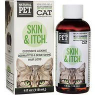 Tomlyn Natural Pet Pharmaceuticals Skin & Itch Homeopathic Cat Supplement, 4-oz bottle