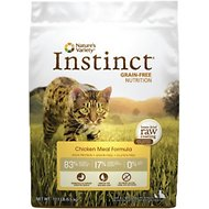 Nature's Variety Instinct Grain-Free Chicken Meal Formula Dry Cat Food, 12.1-lb bag