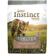 Nature's Variety Instinct Limited Ingredient Diet Turkey Meal Formula Grain-Free Dry Cat Food, 12.1-lb bag