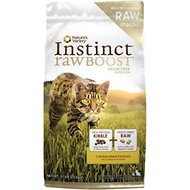 Nature's Variety Instinct Raw Boost Grain-Free Chicken Meal Formula Dry Cat Food, 5.1-lb bag