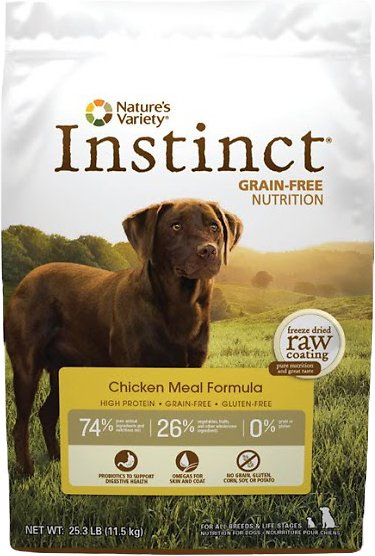 Nature S Variety Instinct Grain Free Chicken Meal Formula